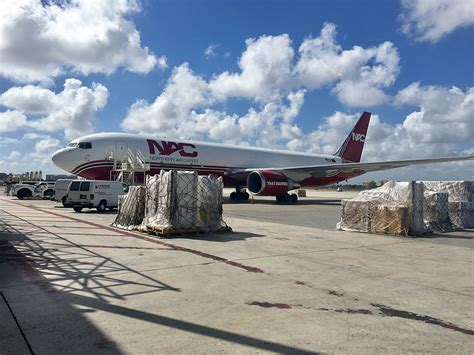 northern air cargo launches freighter service   miami
