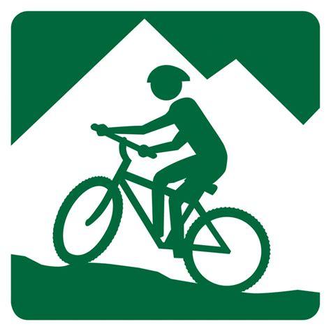Col House by Mountain Bike Sign Icon Forests Podere Col Di Leccio