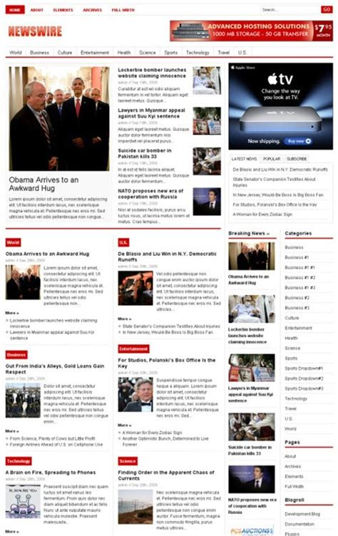 theme junkie newswire theme junkie newswire theme review