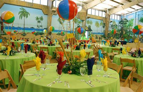 caribbean themed decorations mitzvah island style table decor jpg 846 215 550 pixels