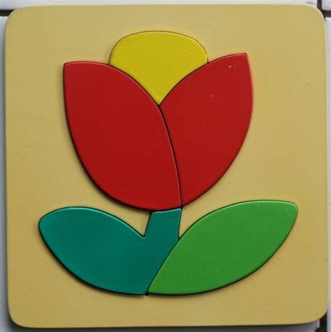 Limited Stock Mainan Edukatif Edukasi Anak Puzzle Stiker Kayu Knop mainan kayu puzzle cat timbul bunga mainan eduka pusat mainan mendidik dan aman mainan