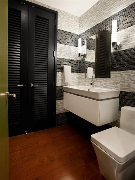 modern half bathroom design half bathroom or powder room hgtv