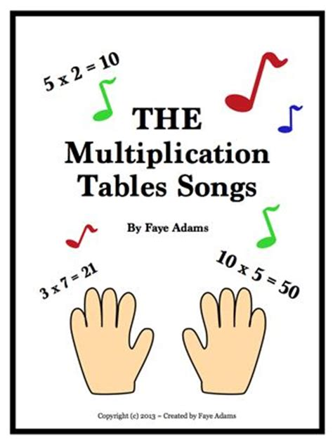 how to teach multiplication tables to dyslexic 25 best ideas about math songs on teaching