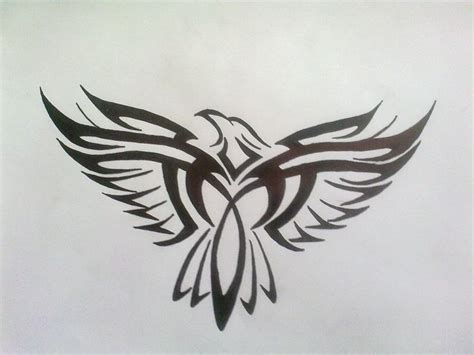 tattoo designs eagle wings 52 amazing tribal eagle tattoos designs with meanings