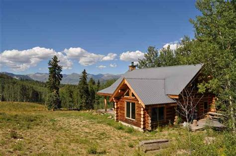 Mountain Cabin For Sale Colorado by Mountain Ranch Log Cabin Sold In Crested Butte