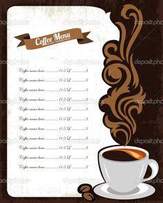 Menu Coffee Toffee Kalimalang free coffee shop menu design and layout templates to food coffee