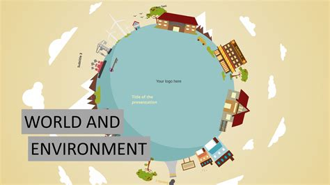 Prezi Presentation Templates World And Environment Youtube Prezi Templates