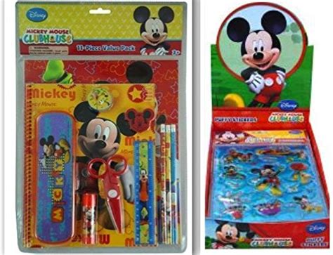 Disney Mickey Mouse Musical Set 11 disney mickey mouse clubhouse back to school and