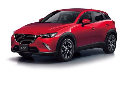 mazda th allcarschannel com official debut of mazda cx 3 in