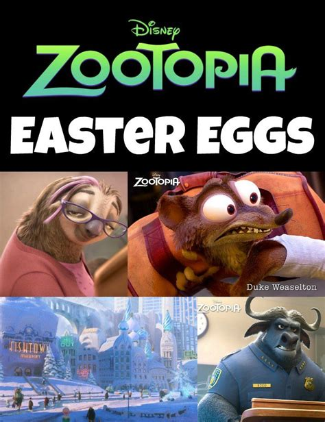 film disney zoo 6 hidden zootopia easter eggs zootopia easter eggs