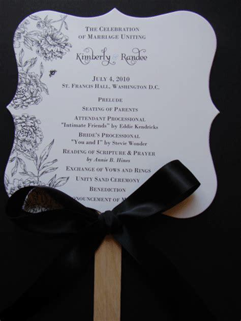 wedding program fans kit as i attempt wedding program fan design weddingbee