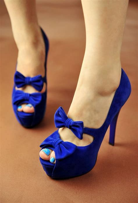 blue high heels for prom for some reason these are kinda shoes