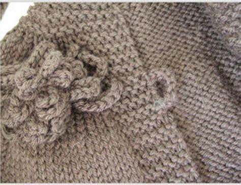 fiori di ai ferri tricotting tricotting handmade knitwear