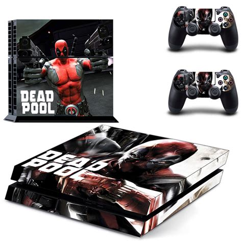 Ds4 Skin Deadpool By Stiker Onlen deadpool sticker reviews shopping deadpool