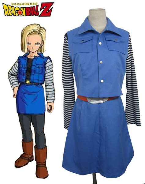 android 18 costume aliexpress buy z android no 18 anime costume from reliable costume
