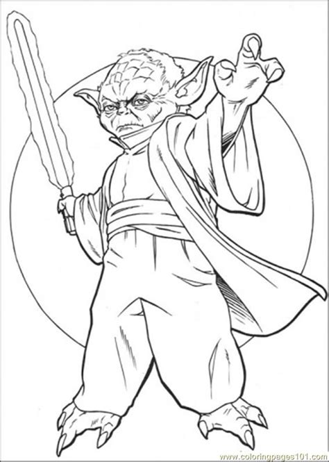 Wars Characters Az Coloring Pages