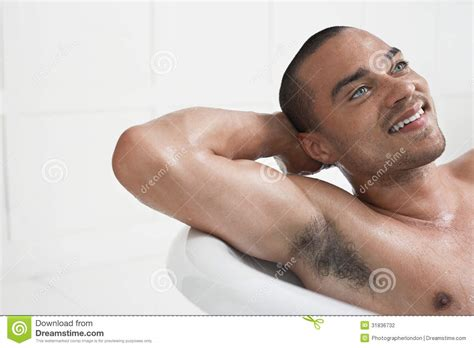 man in bathtub man relaxing in bathtub stock photography image 31836732
