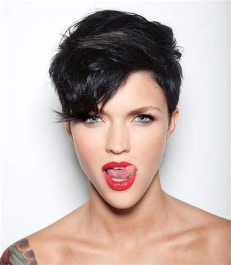 short hairstyles for womenwith a calf lick ruby rose hairstyle 2012 fashion beauty
