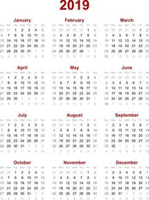 Calendar 2019 India With Holidays 2019 Calendar My
