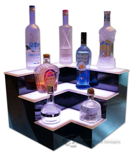 Corner Bar Shelf by 18 Quot 3 Step Corner Home Bar Display