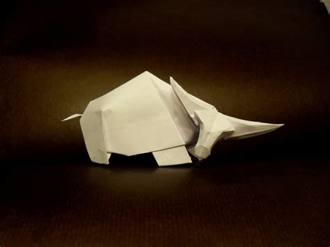 origami bison origami buffalo by orestigami on deviantart