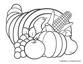 cornucopia coloring page thanksgiving coloring pages cornucopia printable coloring