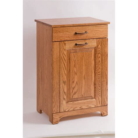 tilt out tray home tilt out trash bin with amish crafted furniture
