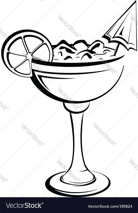 mixed drink clipart black and white cocktail vector by seamartini image 190624