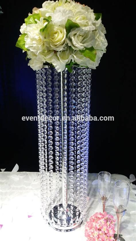 wholesale crystal chandelier table centerpieces  event