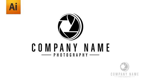 free design logo photography logo photographe