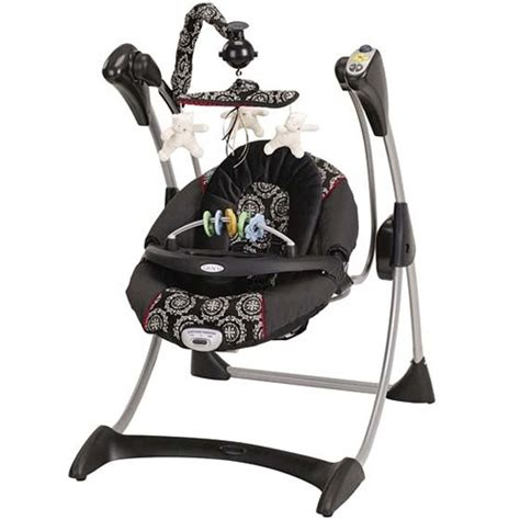black and white baby swing carson s swing absolutely love the graco edgemont