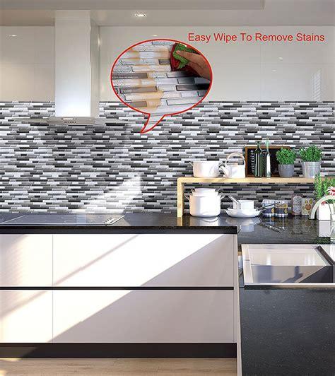 piastrelle effetto mosaico piastrelle adesive per cucina 30 tipi di rivestimenti in