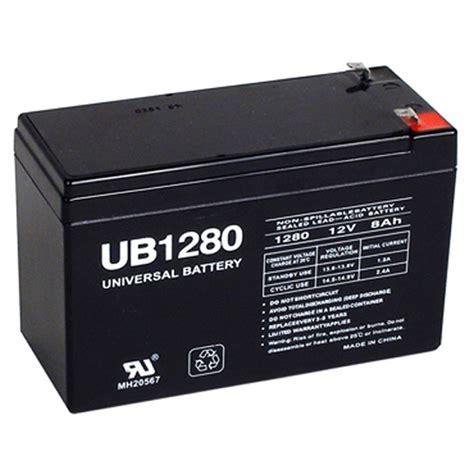 12 volt 8 ah security alarm battery replaces 12v 7ah