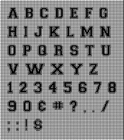 Collegiate Letters Crochet Pattern