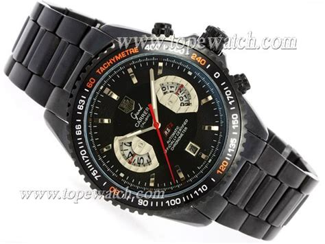 Tag Heuer Calibre 17 Black 30 tag heuer grand calibre 17 rs2 automatic pvd with black replica