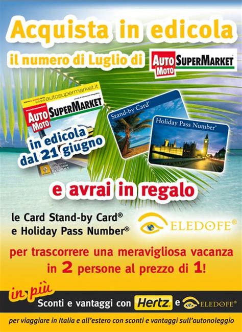 the l stand coupon eledofe card omaggio