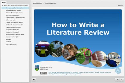 Library Literature Review by Introduction Literature Review Libguides At Ucd Library