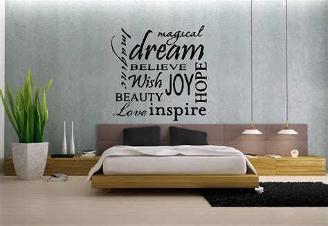 Wall Stickers For Master Bedrooms by Master Bedroom Design Wall Decals 3 Designer Mag