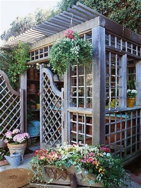 Cool Garden Shed Garden Ideas Pinterest Cool Garden Shed Ideas