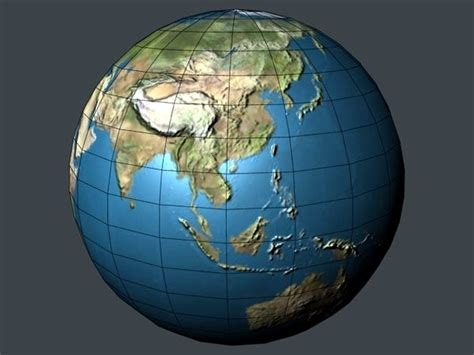 3d earth map 3d earth blender