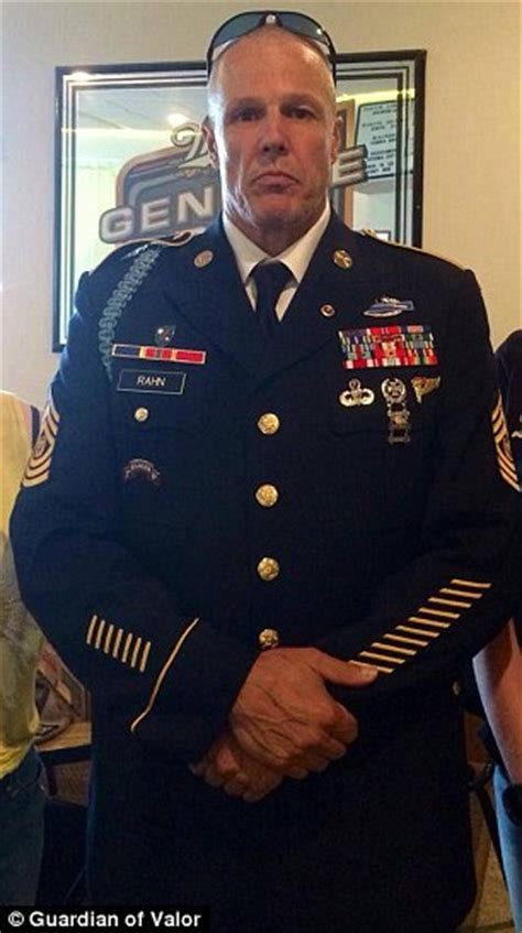 Most Highly Decorated Navy Seal by Marched In Honor Of Fallen Vets And Socialized With