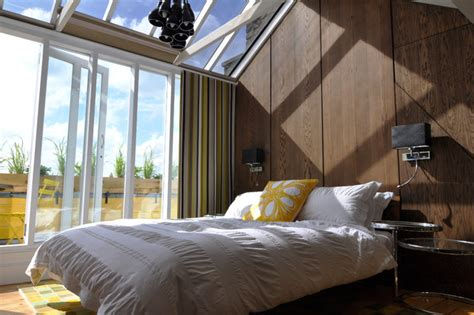dinner in the sky bathroom bedroom in the sky contemporary bedroom london by