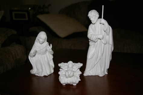 home interior collectibles homco nativity white bisque figurines home interiors