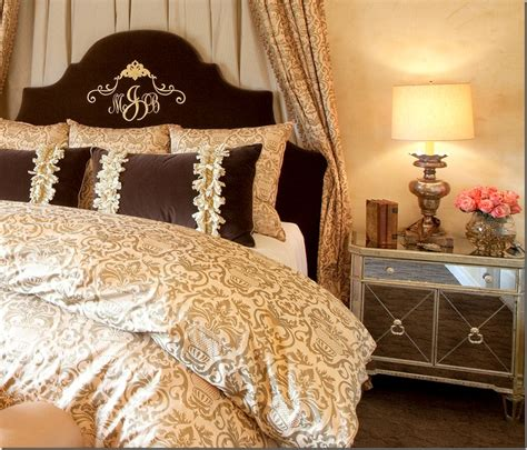 Monogrammed Headboards by The Monogrammed Velvet Headboard Master Bedroom