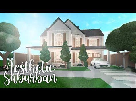 bloxburg aesthetic suburban youtube