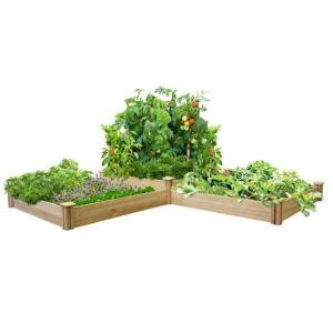 greenes fence  tiers dovetail raised garden bed