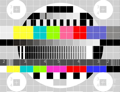 test pattern tv tv multicolor signal test pattern by aloysius patrimonio
