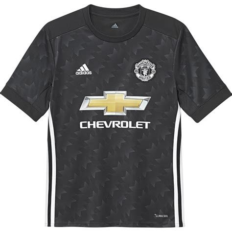 Grosirmurah Jersey Manchester United Mu Away 2017 2018 Grade Ori adidas manchester united away junior sleeve jersey 2017 2018 in black excell sports uk