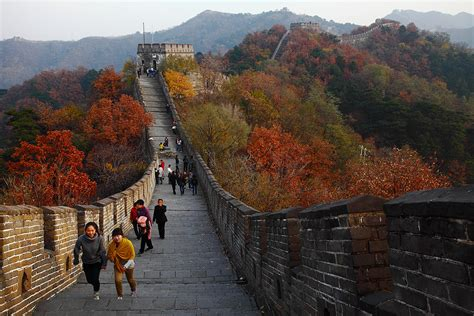 Great Wall Of China Mutianyu Section by Mutianyu Great Wall Beijing Attractions