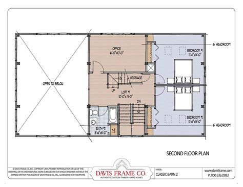barn house floor plan prefab barn homes and floor plans from davis frame